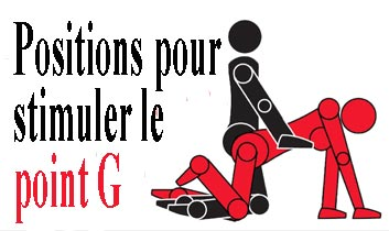 Positions pour stimuler le point G
